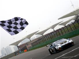 Car 90 Checkered Flag
