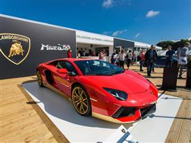 Aventador Miura Homage on display at Goodwood HR-3