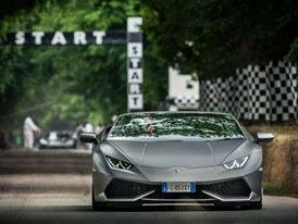 Huracan Spyder at Goodwood Hillclimb