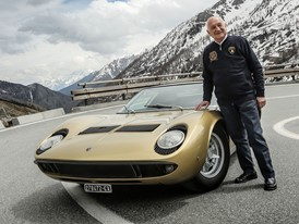 Stanzani and the gold Miura