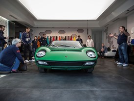 The green Miura restored by PoloStorico 1