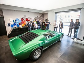 The green Miura restored by PoloStorico 2