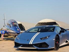 Frecce Tricolori and Lamborghini Huracan Avio
