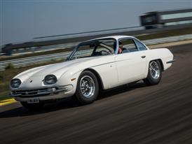 Lamborghini 350 GT Celebrates Its Polo Storico Restoration By Making Debut On Track