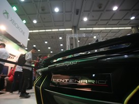 Detail of Lamborghini Centenario at MGW