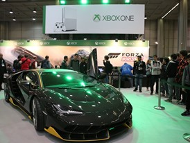 The Lamborghini Centenario at MGW