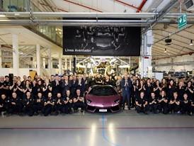 Lamborghini Aventador n°6000