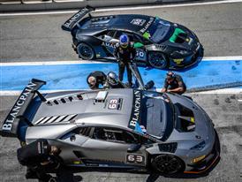 Lamborghini Super Trofeo Pit-stop