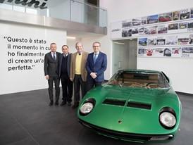 Comitato dei Saggi (from the left M. Reggiani, G. Dallara, M. Forghieri) with S. Domenicali