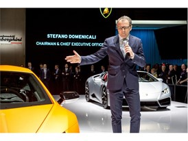 Stefano Domenicali, Chairman and CEO of Automobili Lamborghini and new Lamborghini Huracán Performante