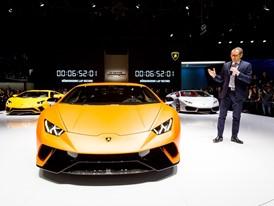 Stefano Domenicali, Chairman and CEO of Automobili Lamborghini and new Lamborghini Huracán Performante