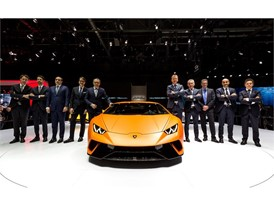 The new Lamborghini Huracán Performante
