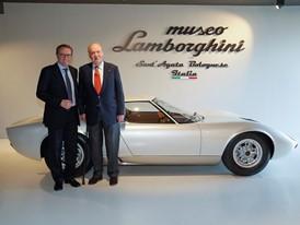 Juan Carlos di Borbone - Stefano Domenicali - Miura in background