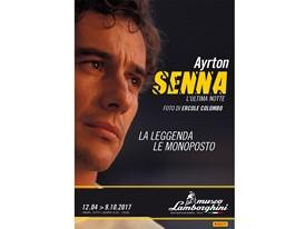 Ayrton Senna e il suo mito, dal 12 Aprile al Museo Lamborghini di Sant'Agata Bolognese