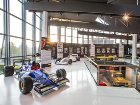 An exhibition dedicated to Ayrton Senna  inaugurated at the Lamborghini Museum at Sant'Agata Bolognese