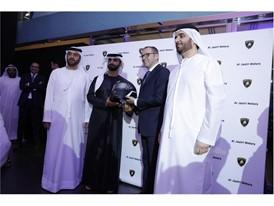 hman Al Jaziri, HH Sheikh Mansoor Bin Muhammed Bin Rashid Al Maktoum, S. Domenicali, Badr Al Jaziri