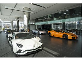 Lamborghini Dubai Showroom - interior