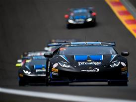 Riccardo Agostini and Trent Hindman Win from Pole in Second Lamborghini Super Trofeo North America Race At Watkins Glen International