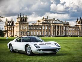 Vom Lamborghini Polo Storico restaurierter Miura  von Dallara ist Preisträger des Salon Privé (UK)