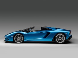 Aventador S Roadster Profile Open