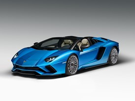 Aventador S Roadster 3-4 Front