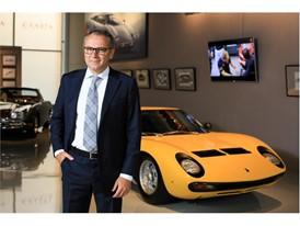 S. Domenicali at Lamborghini Exhibition at Erarta Museum