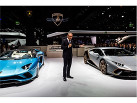 Stefano Domenicali, Chairman and CEO of Automobili Lamborghini