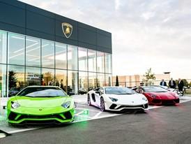 Lamborghini Uptown Toronto Grand Opening