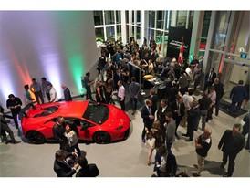 Lamborghini Uptown Toronto Grand Opening Interior