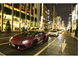 Lamborghini Day Tokyo parade