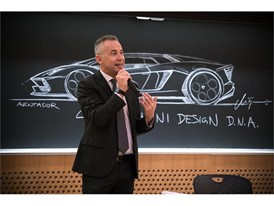 Maurizio Reggiani presents the Lamborghini Terzo Millennio