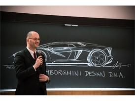 Riccardo Parenti presents the Lamborghini Terzo Millennio