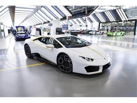 Lamborghini RWD for Pope Francis in production line 08