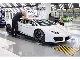 Lamborghini RWD for Pope Francis in production line 04