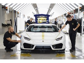 Lamborghini RWD for Pope Francis in production line 02