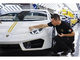 Lamborghini RWD for Pope Francis in production line 05