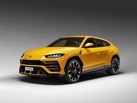 Lamborghini Urus 3-4 front
