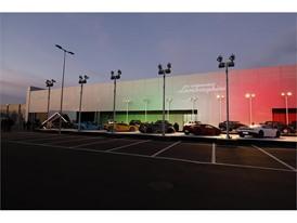 Urus Premiere Automobili Lamborghini display