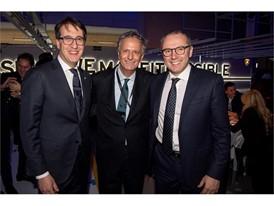 Umberto Tossini, Giuseppe Tartaglione, Stefano Domenicali