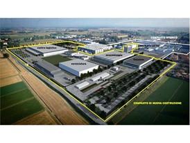 New Automobili Lamborghini production site ita