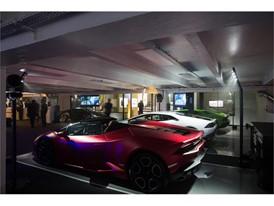 Paris - Lamborghini Aventador S and Huracan