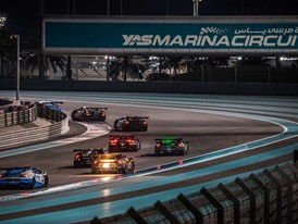 Agostini and Breukers win Race 1 of the Super Trofeo Middle East