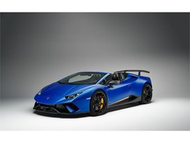 Huracan Performante Spyder 3-4 -front