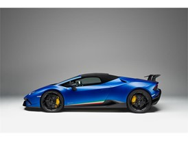 Huracan Performante Spyder side  - closed