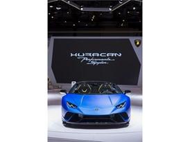 Huracàn performante spyder Geneva motor show 2018