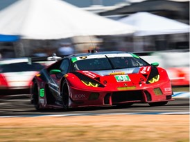 Lamborghini wins the 12 Hours of Sebring