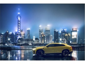 Lamborghini Urus in Shanghai, China