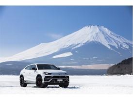 Lamborghini Urus in Fuji (Japan)