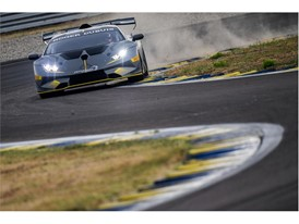 Huracan Super Trofeo Evo grey front