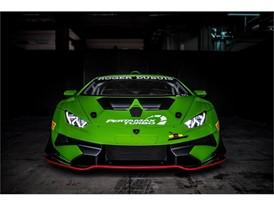 Huracan Super Trofeo Evo green front